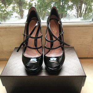 Gucci Lisbeth Pumps Black Patent Leather